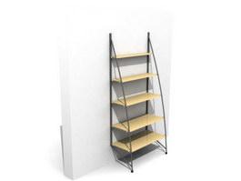 Office Magazine Rack 3d model