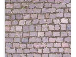 Regular paving stone texture