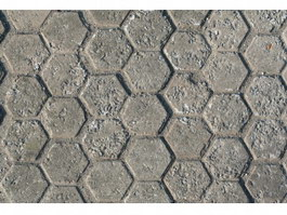 Concrete paving block texture