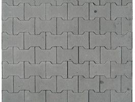 Concrete paving bricks texture