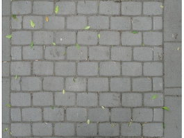 Rectangle of brick paving texture