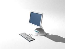 All In One Desktop PC 3d model