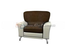 Guest Room Sofa 3d model