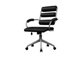 Office Swivel massage armchair 3d model