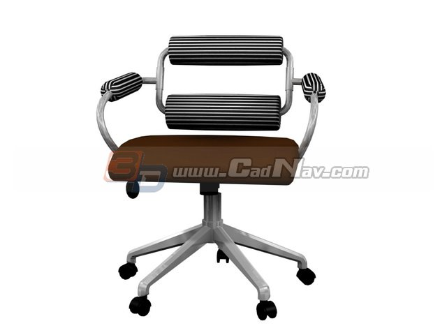 Office Lounge Massage Chair 3d - 25.8KB