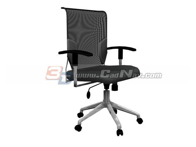 Office Executive Swivel Chair 3d Model 3dmax 3ds Files