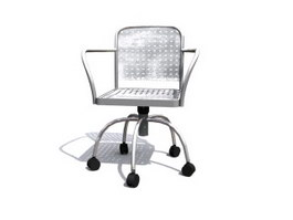 Office Wire Chair 3d model