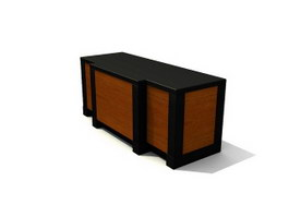Sitting Room TV Stand 3d model