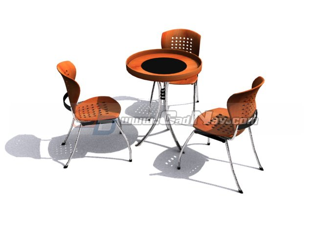 outdoor furniture garden sets 3d model