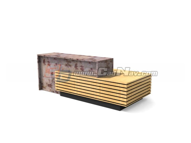 Restaurant reception desk 3d model 3DMax3Ds files free  : 1 130624201523Q9 from www.cadnav.com size 640 x 480 jpeg 24kB