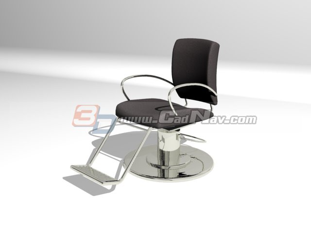 salon barber chair 3d model 3dmax 3ds files free download