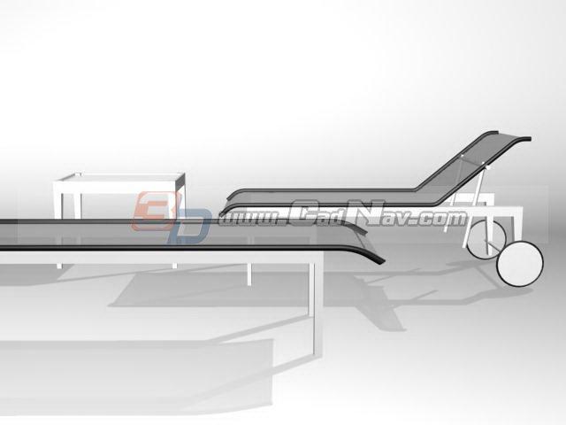Swimming Pool Sun Lounger 3d Model 3dmax 3ds Files Free Download Modeling 3053 On Cadnav