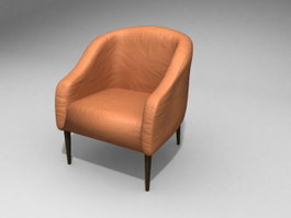Hotel Couch Chair 3d model