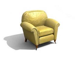 Luxury Sofa For Hotel 3d model
