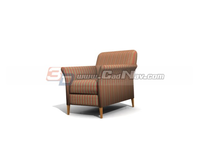Hotel furniture sofa chair 3d model 3DMax,3Ds files free download