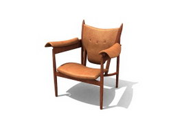 Finn Juhl Chieftains Chair 3d model