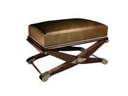 Portable folding stool 3d model