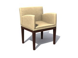 Hotel Leisure Chair 3d model