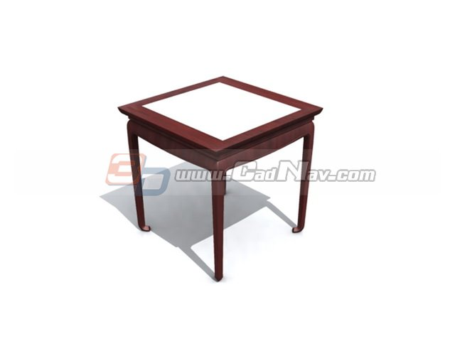 Marble top wooden dining table 3d model 3dmax 3ds files for New model wooden dining table