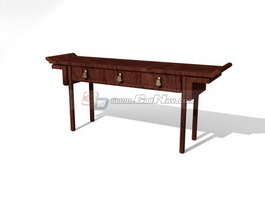 Chinese Furniture Antique Console Table 3d model 3DMax3Ds  : 1 13062R1091X36 from www.cadnav.com size 889 x 667 jpeg 30kB