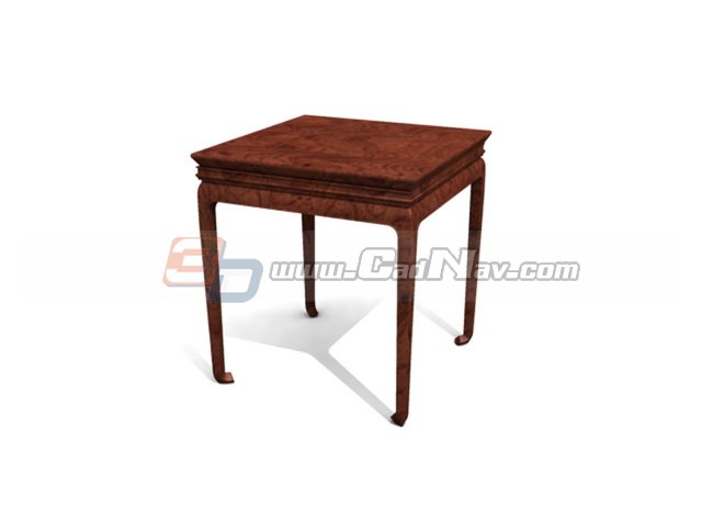 Antique wooden dining table 3d model 3dmax 3ds files free for New model wooden dining table
