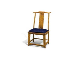 Chinese antique chair 3d model