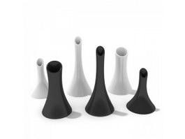 Porcelain Creamer pots 3d model