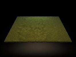 Microfiber Floor Mat 3d model