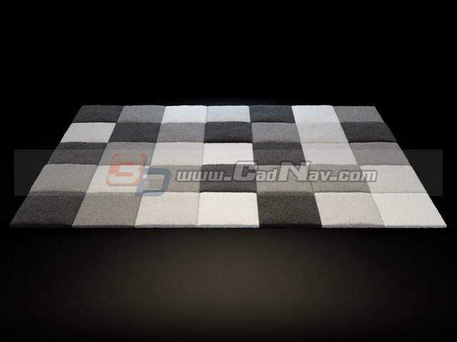 Bath Mats Rug 3d Model 3dsmax Files Free Download
