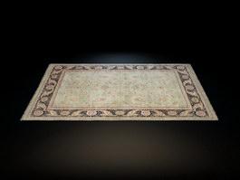 Tapestry door mats 3d model