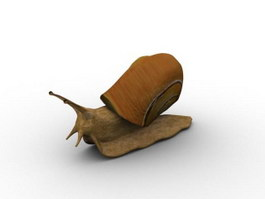 Helix snail 3d model