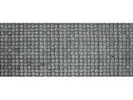 Precast concrete block floor texture