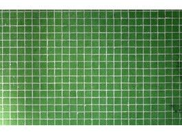 Green glass mosaic texture