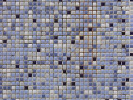 Mixed Crystal Glass Mosaic Tile texture
