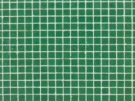 Natural green glass mosaic tiles texture