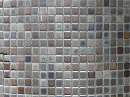 Batroom glass mosaic tile texture