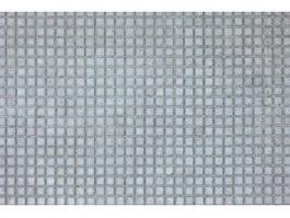 Beige mosaic floor tiles texture