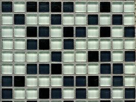 Mixed glass mosaic mirror tile texture