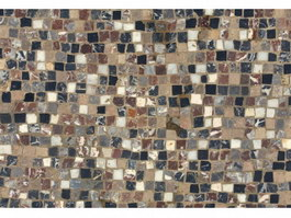 Marble mosaic floor tiles texture
