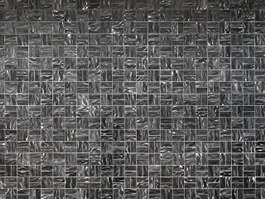Black ice cracked glass mosaic tile texture