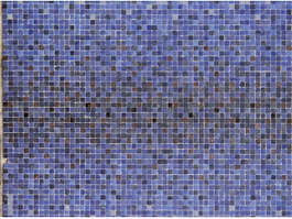 Blue glass mosaic tile for swimming pool texture