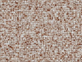 Glass mix color mosaic tile texture