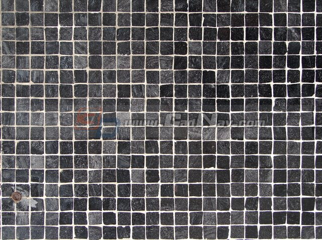 Black Slate Mosaic Floor Texture Image 3604 On Cadnav