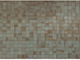 Crystal mosaic for wall texture