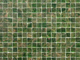 Glass mosaic pattern texture