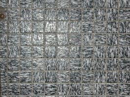 Granite mosaic tile sheet texture