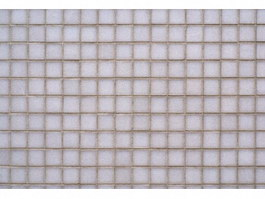 White ceramic mosaic texture