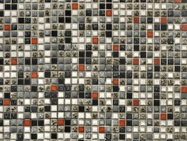 Glass stone mix mosaic wall tile texture