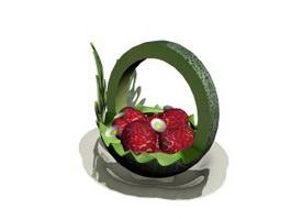 Fruit Platter 3d model