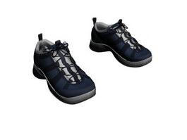 Men sports shoes 3d model